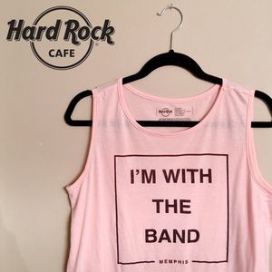 🎸🎶 I'm With The Band Pink Memphis Tank 🎶🎸